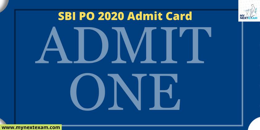 SBI PO 2020 Admit Card Is Releasing Soon