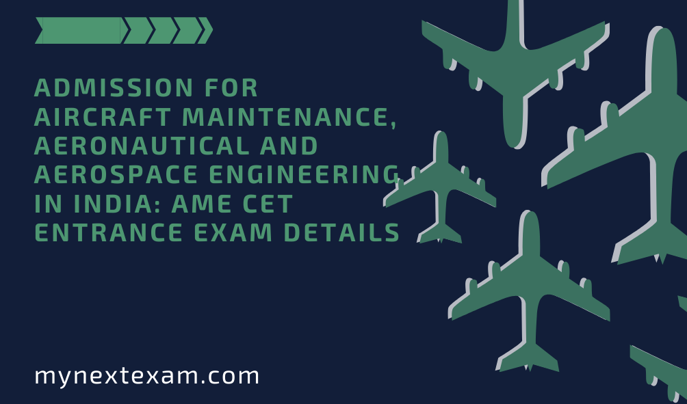 Admission for Aircraft Maintenance