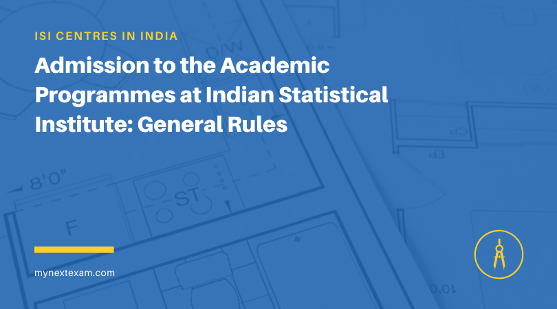 Admission to the Academic Programmes at Indian Statistical Institute