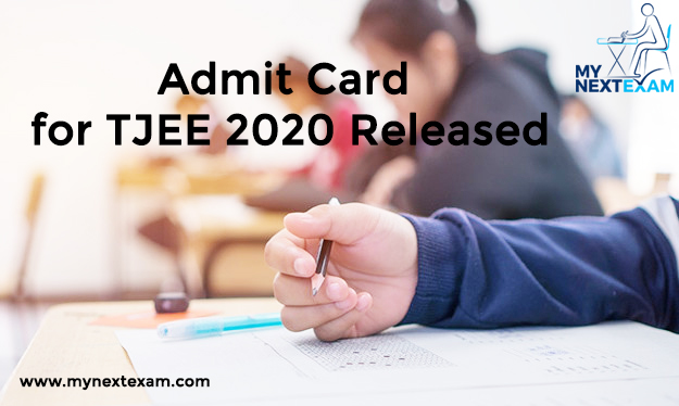 Admit Card for TJEE 2020 Released