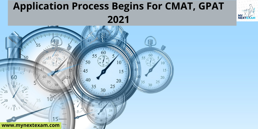 Application Process Begins For CMAT, GPAT 2021