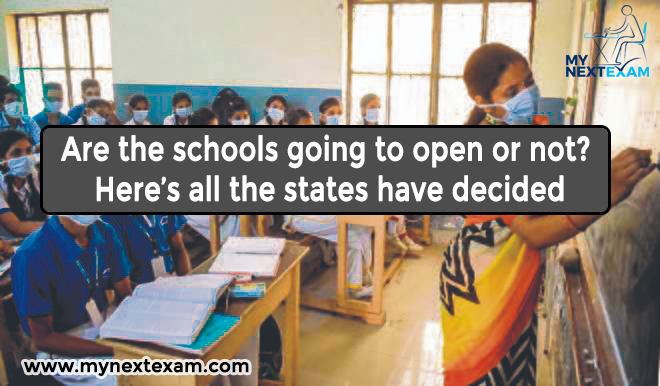 Are the schools going to open or not? Here's all the states have decided