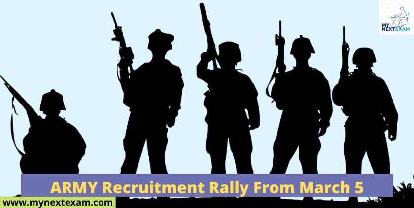 ARMY Recruitment Rally from March 5
