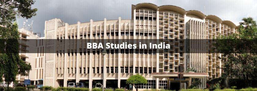 BBA Studies in India