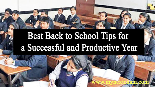 Best Back to School Tips for a Successful and Productive Year