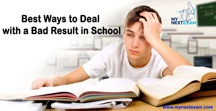 Best Ways to Deal with a Bad Result in School