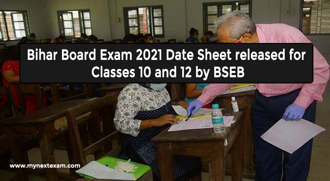 Bihar Board Exam 2021 Date Sheet released for Classes 10 and 12 by BSEB