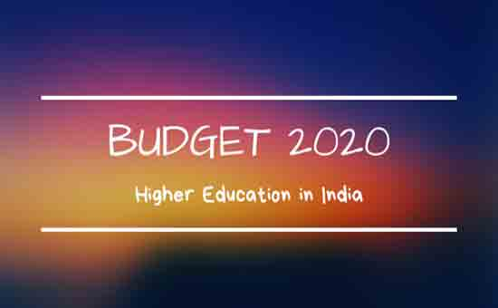 Budget 2020: Too Little for Higher Education in Colleges and Universities in India