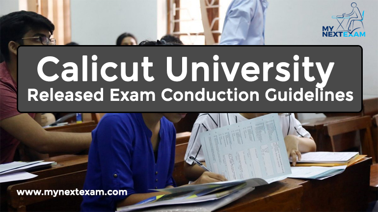 Calicut University Released Exam Conduction Guidelines