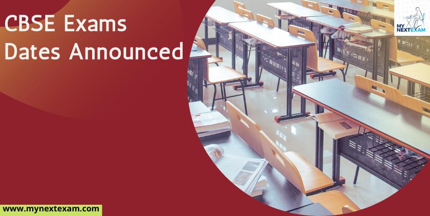 CBSE 2021 Board Exams Announced