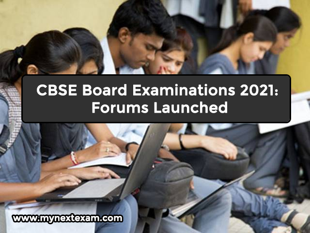 CBSE Board Examinations 2021: Forums Launched