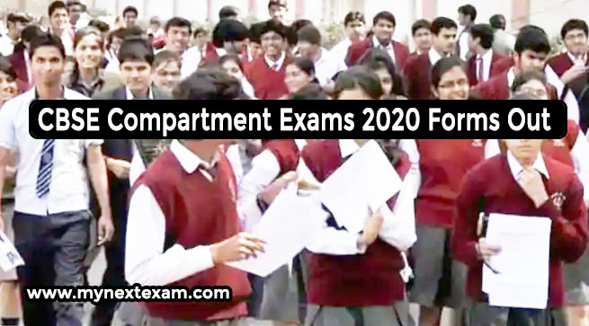 CBSE Compartment Exams 2020 Forms Out