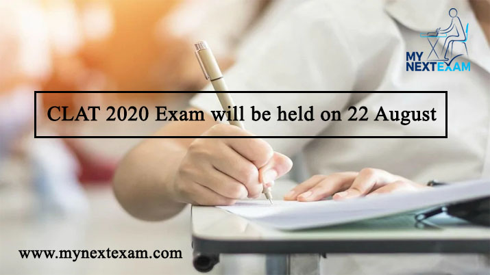 CLAT 2020 Exam will be held on 22 August