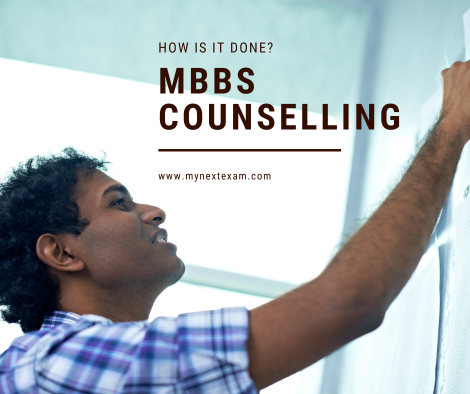 MBBS and BDS counselling for 2020
