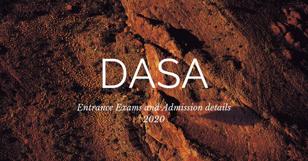 DASA 2020: Application Process, Dates, Eligibility, Admission Process