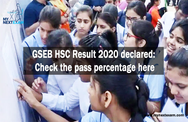 GSEB HSC Result 2020 declared: Check the pass percentage here