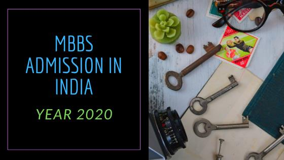 How can one become a doctor in India? MBBS Admission in India for Year 2020