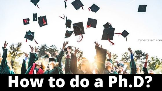 How to do a PhD?