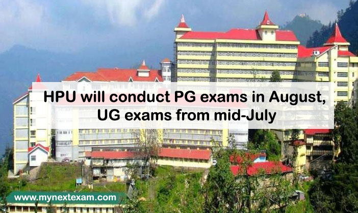 HPU will conduct PG exams in August, UG exams from mid-July