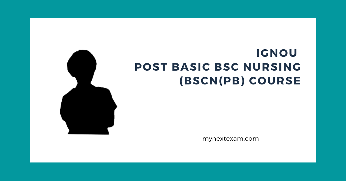 IGNOU Post Basic BSc Nursing