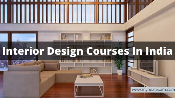 Interior Design Courses In India