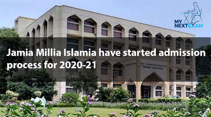 Jamia Millia Islamia have started admission process for 2020-21