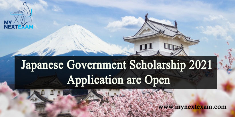 Japanese Government Scholarship 2021 Application are Open