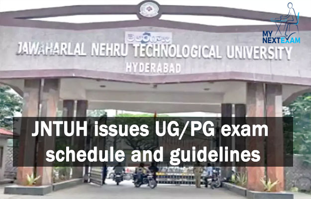 JNTUH issues UG/PG exam schedule and guidelines