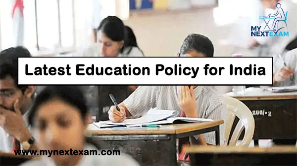 Latest Education Policy for India | National Education Policy 2020