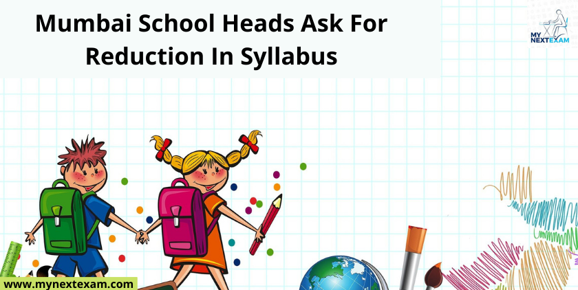 Mumbai School Heads Ask For Reduction In Syllabus