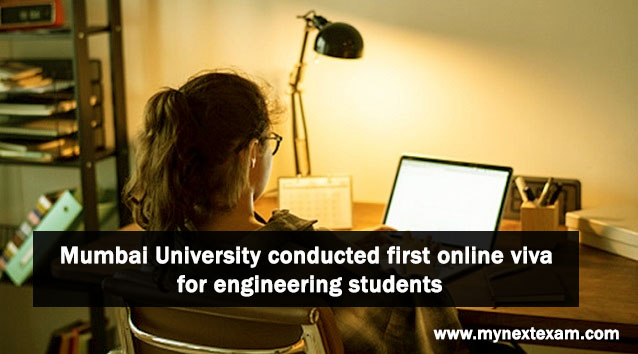 Mumbai University conducts first online viva for engineering students