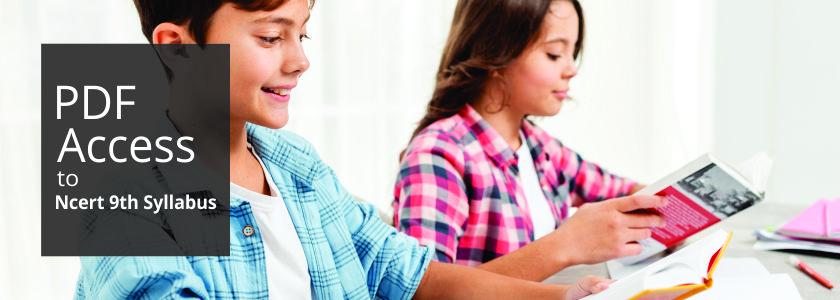PDF Access to NCERT 9th Standard Syllabus