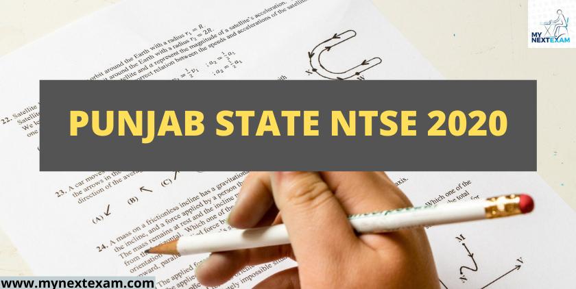 Punjab State NTSE 2020