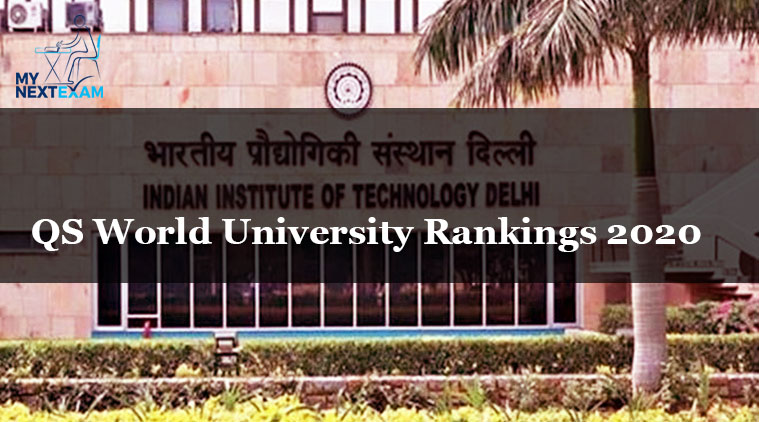 QS World University Rankings 2020