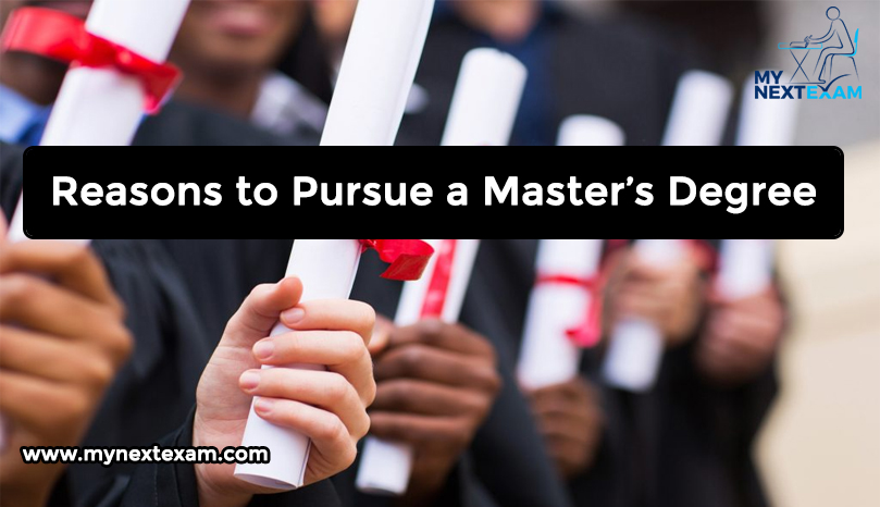 Reasons to Pursue a Master's Degree