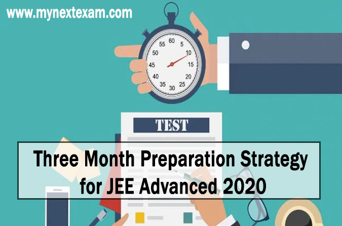 Three Month Preparation Strategy for JEE Advanced 2020