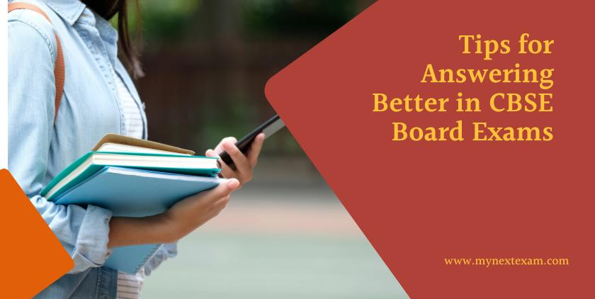 Tips For Answering In The Best Way In CBSE Board Exams