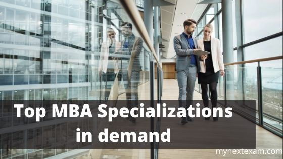 Top MBA Specializations in demand