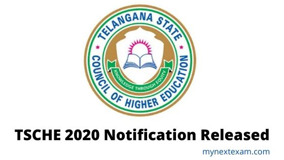 TSCHE 2020 notification released