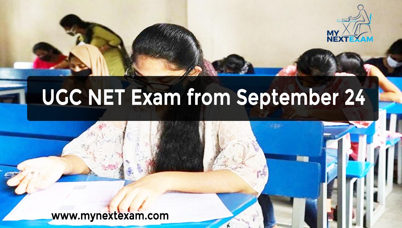 UGC NET Exam from September 24