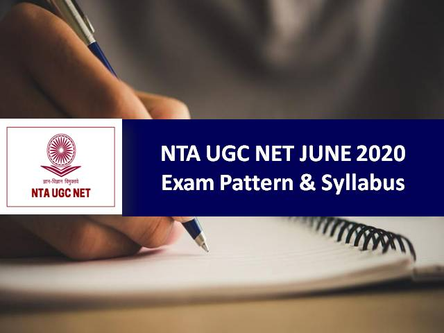 UGC-NET June 2020; Official Notification