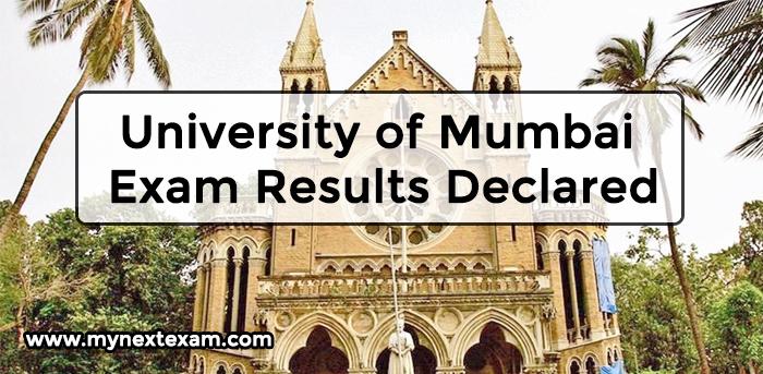 University of Mumbai Exam Results Declared